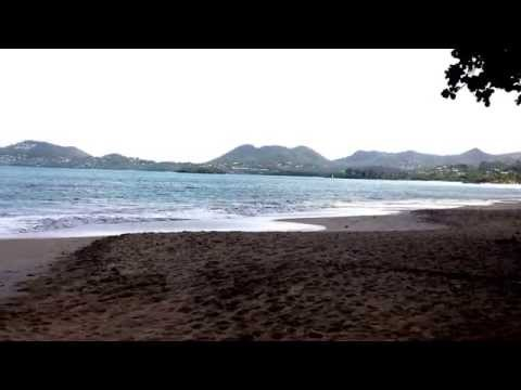 St Lucia -Simply Beautiful - vigie Beach early morning