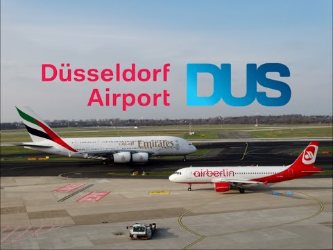 Spotting at Düsseldorf Airport | 18th February 2016