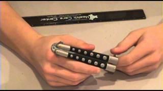 Jaguar Classic Butterfly Knife