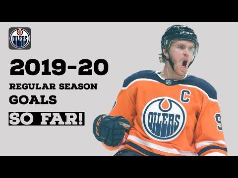 Connor McDavid (#97) | 2019-20 Goals | EDM | (First 20 Goals)
