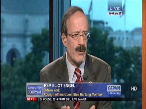 Rep. Eliot Engel on CSPAN Washington Journal - July 11, 2013