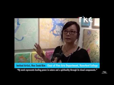 Hee Sook Kim interview by TKC at Art Mora Gallery, Chelsea, New York