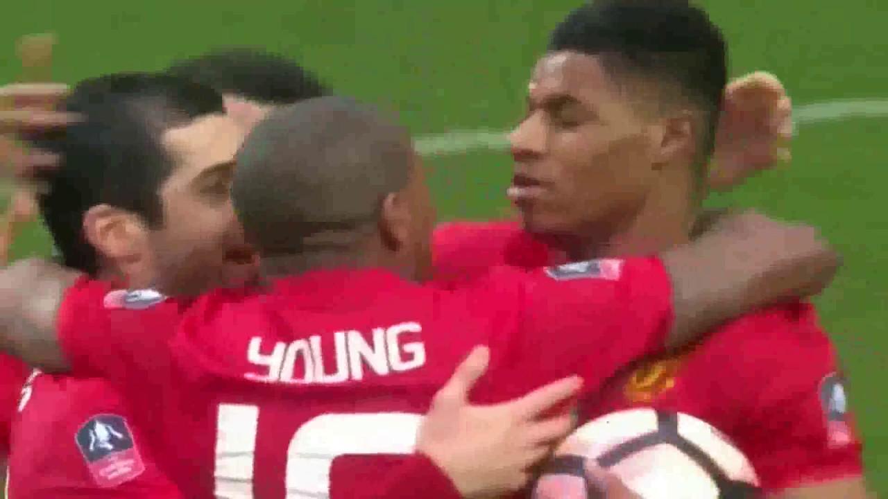 Download Blackburn vs Manchester United 1-2 19/02/2017 All Goals FA Cup HD