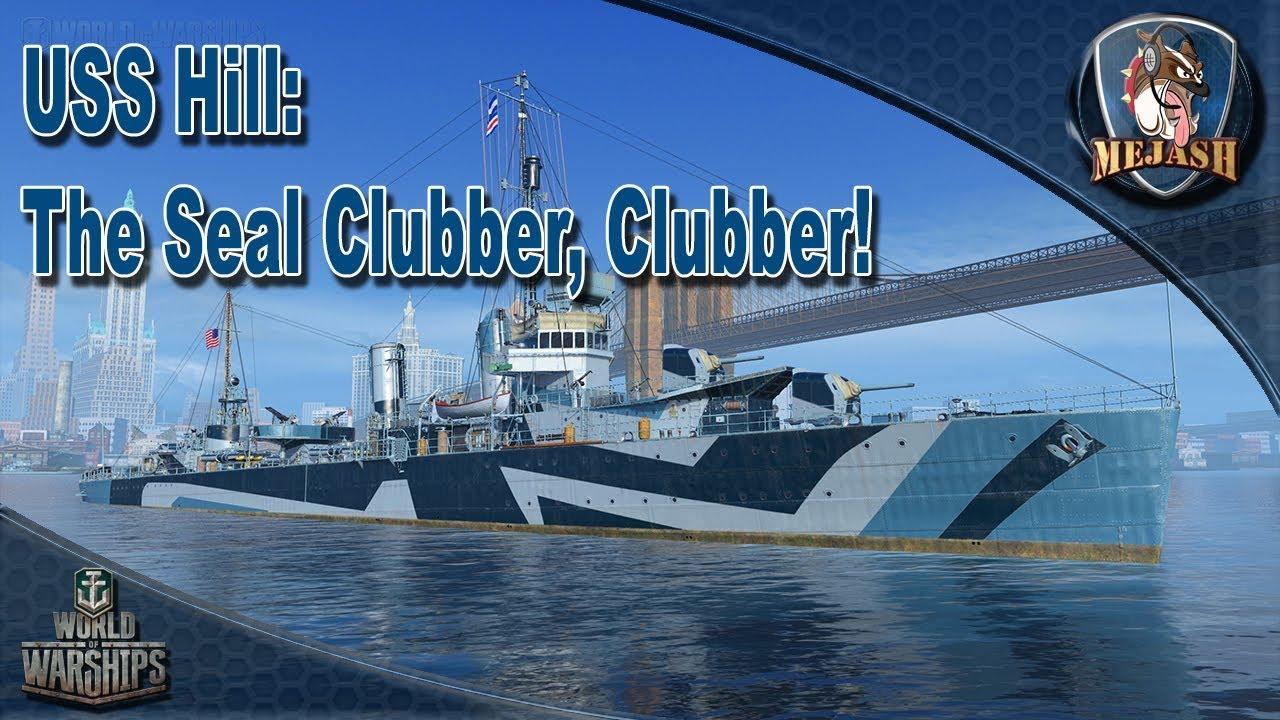 USS Hill: The Seal Clubber, Clubber!