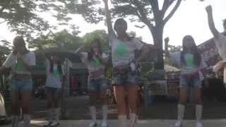 D☆EGGS 2015/7/26 代々木公園タイフェス 青春のハート爆弾 朝倉愛望 森...