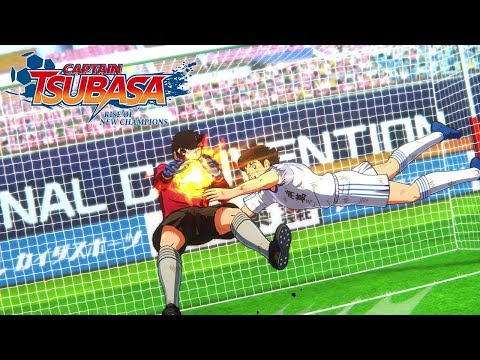 Captain Tsubasa: Rise Of New Champions - Story Mode Trailer - PS4/PC/SWITCH