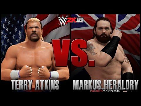 WWE 2K16: Terry Akins vs. Markus Heraldry