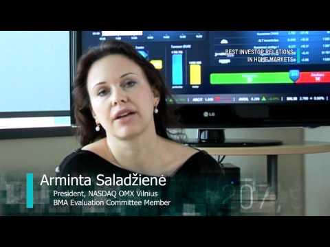 Best Investor Relations in NASDAQ OMX Tallinn, NASDAQ OMX Riga, NASDAQ OMX Vilnius