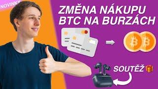 Nový princip nákupu BTC 💰 Vývoj ceny jaro 🆚 nyní 🎁 Soutěž 🎁 Bitcoin novinky // KRYPTO Mates