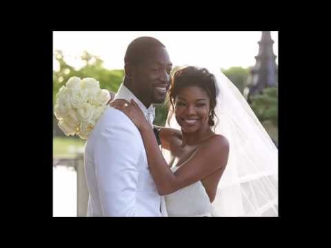 DWYANE WADE & GABRIELLE UNION -- MARRIED! SEE THE PIC! (8/30/14)