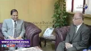 بالفيديو.. وزير الثقافة يصل 'الغربية' لافتتاح معرض طنطا للكتاب
