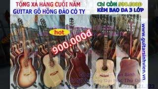 Tổng Xả Hàng Cuối Năm Guitar Ukulele Phụ Kiện Guitar Cajon