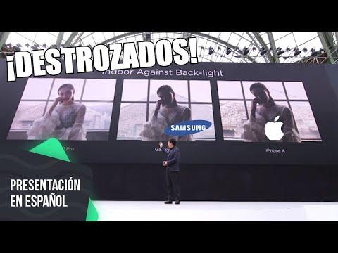 Huawei destroza a Apple y Samsung con P20 Pro