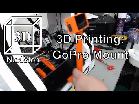 3D Printing: GoPro Mount