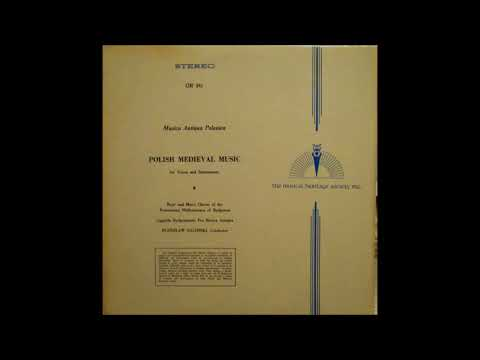Musica Antiqua Polonica: 9  Anon- Cristicolis Secunditas (15th Century)