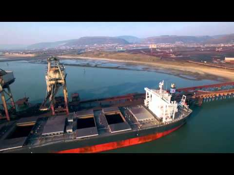 Port Talbot Dock (4K) DJI Phantom 3 Professional