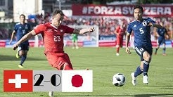 Suisse 2-0 Japon - Résumé du match - (08/06/2018) HD