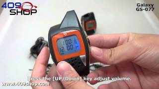 Galaxy GS-077 PMR-446Mhz Walkie Talkie Watches