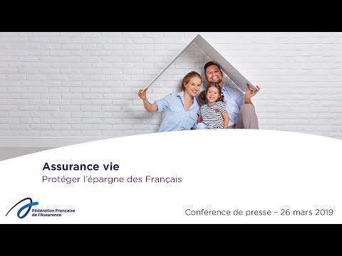 Assurance vie - Conférence de presse mars 2019