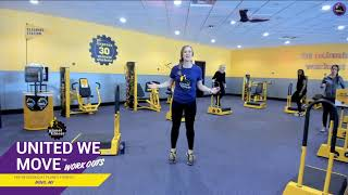 This Workout Can be Done in a Planet Fitness or at Home