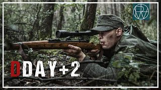 D-DAY PLUS 2 (WW2 Short Film GERMAN SNIPER) [4K]