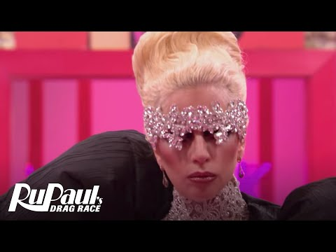 Lady Gaga's Big Entrance! | RuPaul's Drag Race Season 9 | #DragRaceGoesGAGA | Now on VH1!