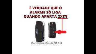 FALANDO SOBRE O ALARME DO FORD NEW FIESTA 1.6 SE 2017 18