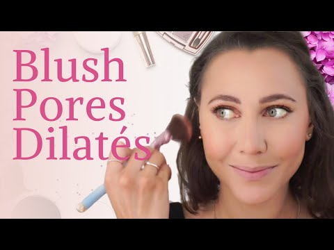 Comment mettre du blush sur des pores dilatés ?