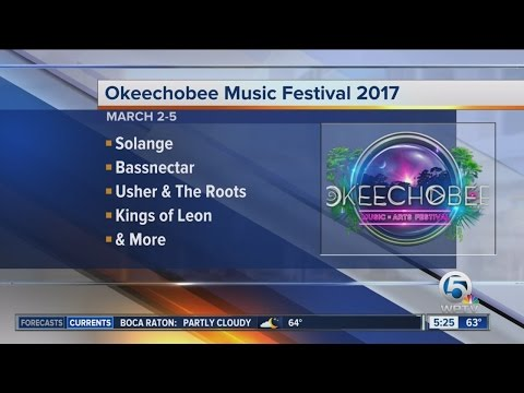 Schedule released for 2017 Okeechobee Music Festival