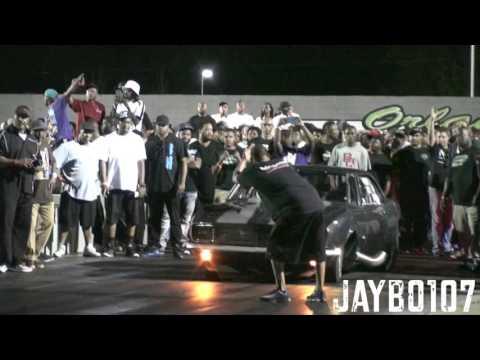 "The Lizard"" Nova vs DJ Camaro at  Orlando Speedworld Dragway"