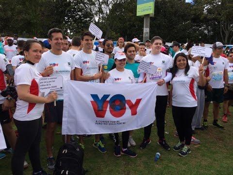 Equipo YOVOY - CRAN Media Maratón de Bogotá 2016