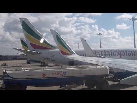 Addis Ababa Airport 2018 - Ethiopia - 11/25/2018.