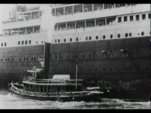 Настоящие кадры Титаник, фрагменты 1912года
