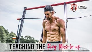 Ring MUSCLE UPS Made EASY // School of Calisthenics