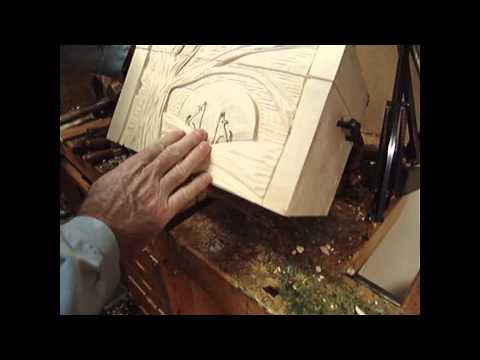 Woodcarving 1 Relief Lesson Layout