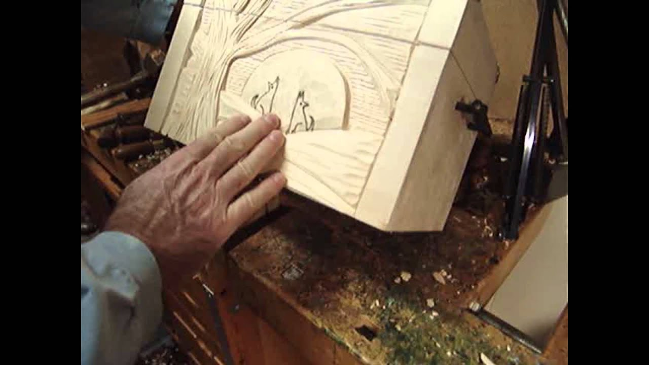 Woodcarving relief lesson layout youtube