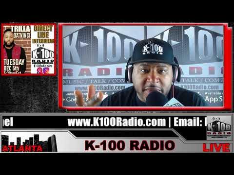 Direct Line Interview with Trilla Da Vinci on K-100 Radio