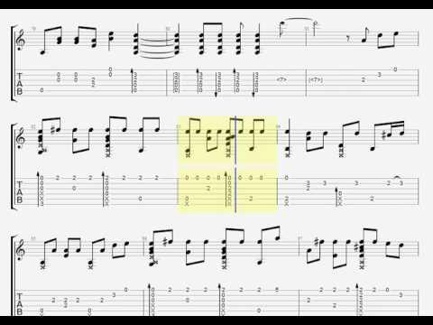 Secret Base  Anohana ED Guitar [TAB]  YouTube