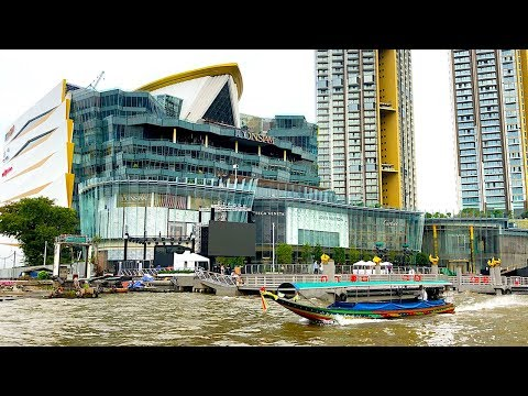 HOW TO GET TO ICONSIAM BY SHUTTLE BOAT | Iconsiam - Bangkok's New Luxury Shopping Mall In Bangkok,