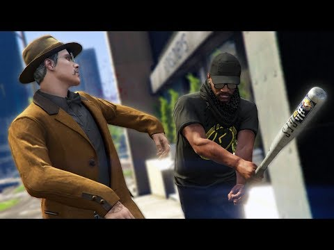 JUMPING PEOPLE ONLINE! *MUGGER TROLLING!* | GTA 5 THUG LIFE #161