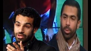شاهد ماذا قال النجم أحمد فتحي لـ محمد صلاح بين شوطي النهائي
