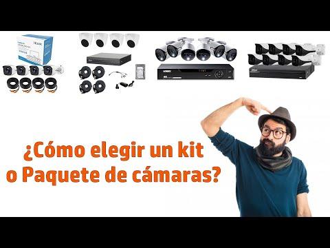 ¿Qué kit de cámaras de seguridad comprar?