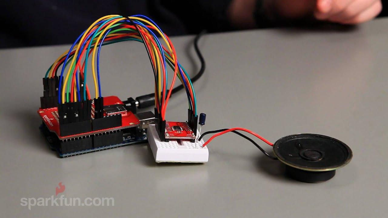 SparkFun MicroSD Shield Exploring Arduino