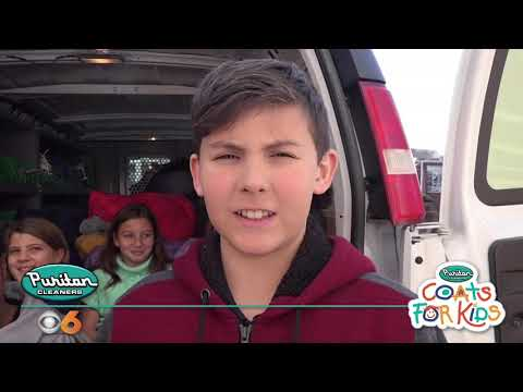 Puritan Cleaners Coats For Kids 2018 visits Richmond Christian School