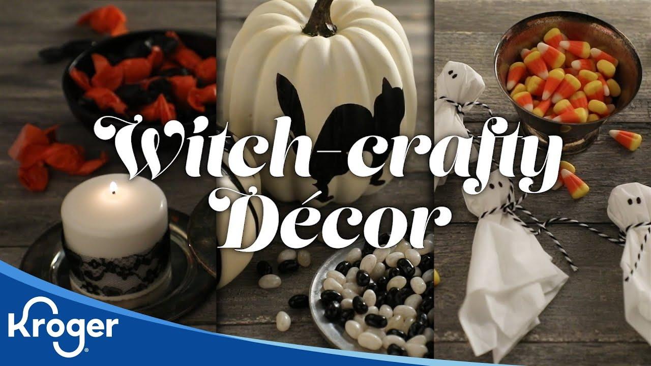 how to: halloween decor│video │kroger - youtube