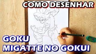 COMO DESENHAR Goku Migatte no Gokui | HOW TO DRAW (Esboço/Sketch) #1