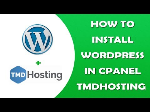 How to Install WordPress in Cpanel on TMDHosting & Coupon Code