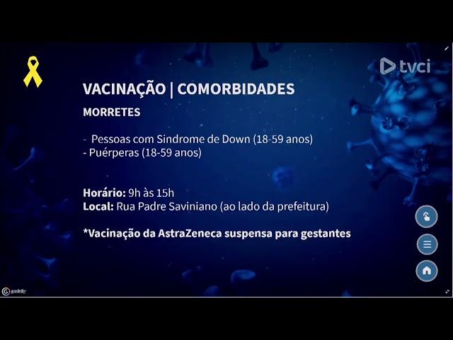 CRONOGRAMA DE VACINAÇÃO DO LITORAL