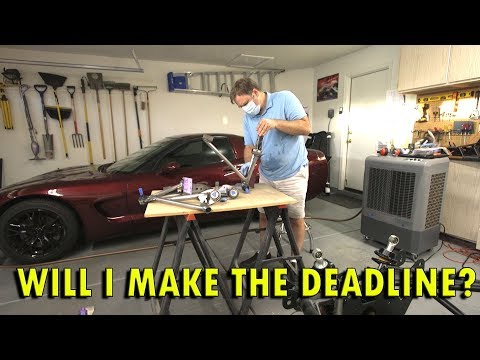 Factory Five 33 Hot Rod V2 Build –  Prepping For Spray Paint