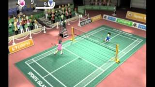 Sports Island Badminton match with BB8. - first part -